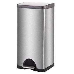 trash can kitchen stainless steel