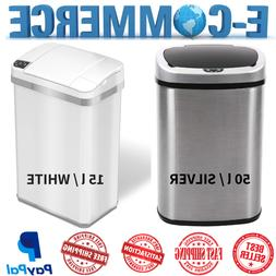 Trash-Can of Stainless Steel Touch Free Automatic Infrared S