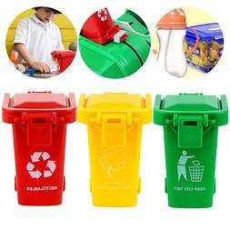 Trash Can Toy Garbage Truck's Trash Bin Mini Curbside Trashc