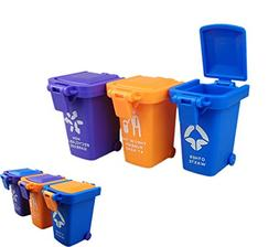 Nuanmu Trash Can Toy Kids Push Toy Vehicles Garbage Can
