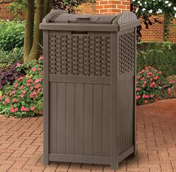 Trash Cans Outdoor 30 Gallon Large Bin with Lid Storage Sunc