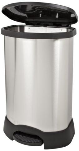 Commercial Step-On 30-Gal. Trash Container