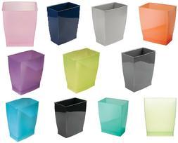 Trash Waste Can Modern Bedroom Bath Office Basket Litter Gar