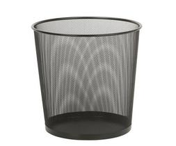 Honey Can Do TRS-02102 14 Inches Black Wire Mesh Trash Baske