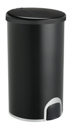 NINESTARS TTT-45-8BK Automatic Tap Sensor Trash Can, 12 Gal