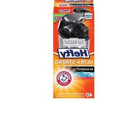 Hefty Ultra Strong Blackout Clean Burst Tall Kitchen Drawstr