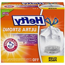 Hefty Ultra Strong Trash Bags  – Fits All Simplehuman Size