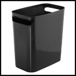 Una Rectangular Trash Can W Handles Waste Basket Garbage For