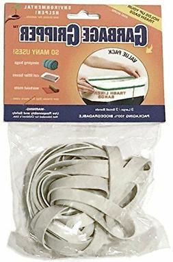 6 pc Value Bag Garbage Gripper Reusable Trash Bag Can Liner