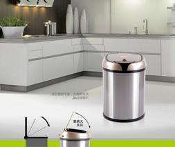 Waste Bin Auto Smart Sensor Wireless Induction Stainless Ste