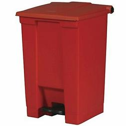 Step On Waste Container - 12 Gallon Color: Red