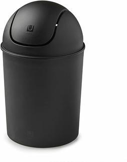 Waste Garbage Basket Trash Can For Bathroom 1 1/2 Gallon wit