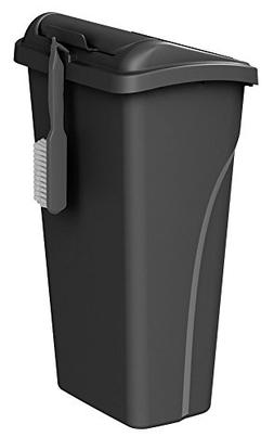 United Solutions WB0258 All-in-One 10 Gallon  Wastebasket wi