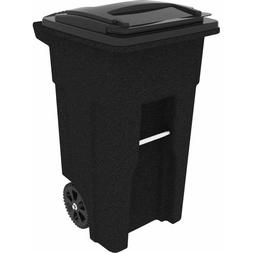 Toter Wheeled 32 Gallon Cart Garbage Container Bin Trash Can