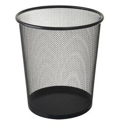 Wire Mesh Waste Bin Trash Can Home Office Paper Basket Bathr