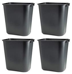 Rubbermaid Commercial WKNRHATC Soft Molded Plastic Wastebask