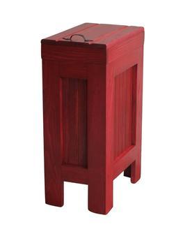 Wood Trash Bin Kitchen Trash Can Wood Trash Bin cabinet Barn