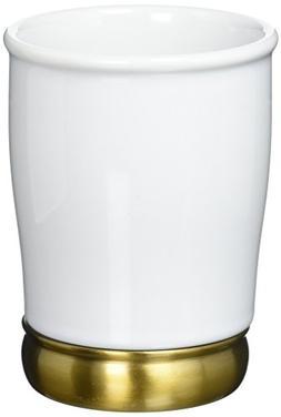 InterDesign York Tumbler Cup for Bathroom Vanity Countertops